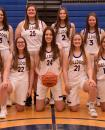 Photo provided by Jill Peterson - The 2020-21 Centreville varsity girls basketball team. Pictured in front left to right are, Faith Edwards, Kelsey Beachey, Paige Walton, Morgan Swanwick and Jade Kuhbander; back row, Bella Kangas, Hannah Hartong, Hailey Miller and Torie Frederick.