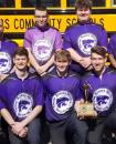 Photo provided by Three Rivers Athletics - The Three Rivers varsity boys' bowling team finished second in Friday's Wolverine Conference Tournament at Airway Lanes in Portage, but repeat as league champions after finishing the league dual-meet season unbeaten.