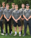 Photo provided by Lisa Blyly - The 2021 Three Rivers boys' golf team. Pictured from left to right are, head coach Pat Kline, Caleb Quake, Garron Gahan, Isaac Adams, Owen Sampson, Dominick Homan, Sam Meyer, Kaden Ratering and Nick Melville.