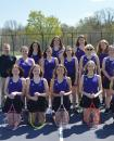 Commercial-News   Scott Hassinger - The 2021 Three Rivers girls' tennis team. Pictured in the front row left to right are, Taylor Workman, Arabella Mangold, Jayley Zeimet, Allie Lundquist and Paige Lundquist; middle row, Brooklyn Page, Samantha Haydon, Laynie Zabonick, Lillian Dunson and Anna Ives; back row, Abigail Thompson, Caleigh Barth, Kienna Shank, Emily Workman and Abigail Lemacks.