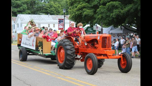 Photo Provided - A group from Centreville United Methodist Church rolls down the parade route during the 2019 Centreville Covered Bridge Days festival. This year's festival runs on July 9 and 10, with the parade on July 10 at 5 p.m.