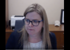 Screenshot via Google Meet - Centreville Public Schools Board of Education Vice President Jackie Bowen discusses Centreville's return to five days per week of in-person learning in the district during their meeting Monday.