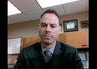 Screenshot via Zoom - First District St. Joseph County Commissioner Jared Hoffmaster discusses the county potentially declaring a state of emergency for increased COVID-19 cases during Wednesday's Executive Committee meeting of the board.
